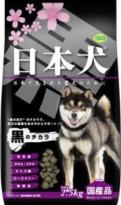 日本犬 黒のチカラ